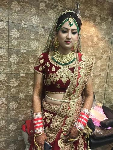 3D Bridal Makeup Services