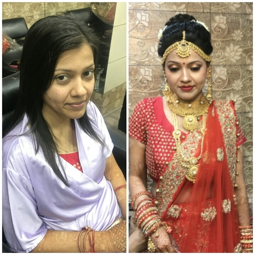 Water Base Bridal Makeup Services