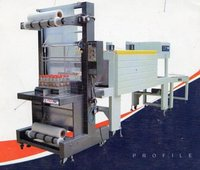 HIGH SPEED SHRINK WRAPPING MACHINE WITH WEB SEALER