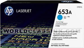 HP CF321 CYAN TONER CARTRIDGE