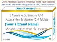 Lycopene, Coenzyme Q10, L-Carnitine, Zinc Vitamin E