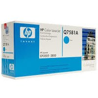 HP Q7581 CYAN TONER TONER CARTRIDGE