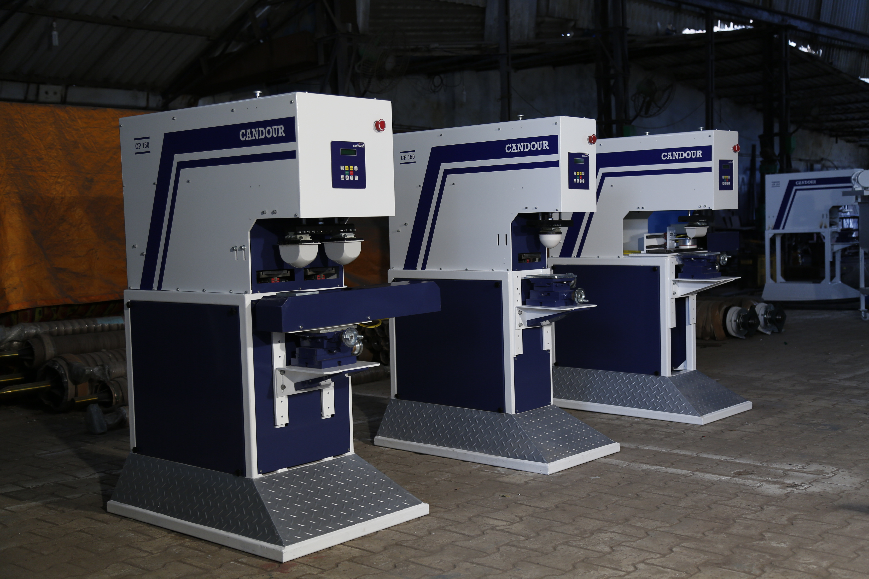 Single Colour Economy Tampon Printing Machine
