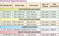 Single Colour Pad Printing Machine