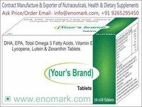 l arginine, dha, proanthocyanidin, zinc, vitamin b6, methylcobalamin