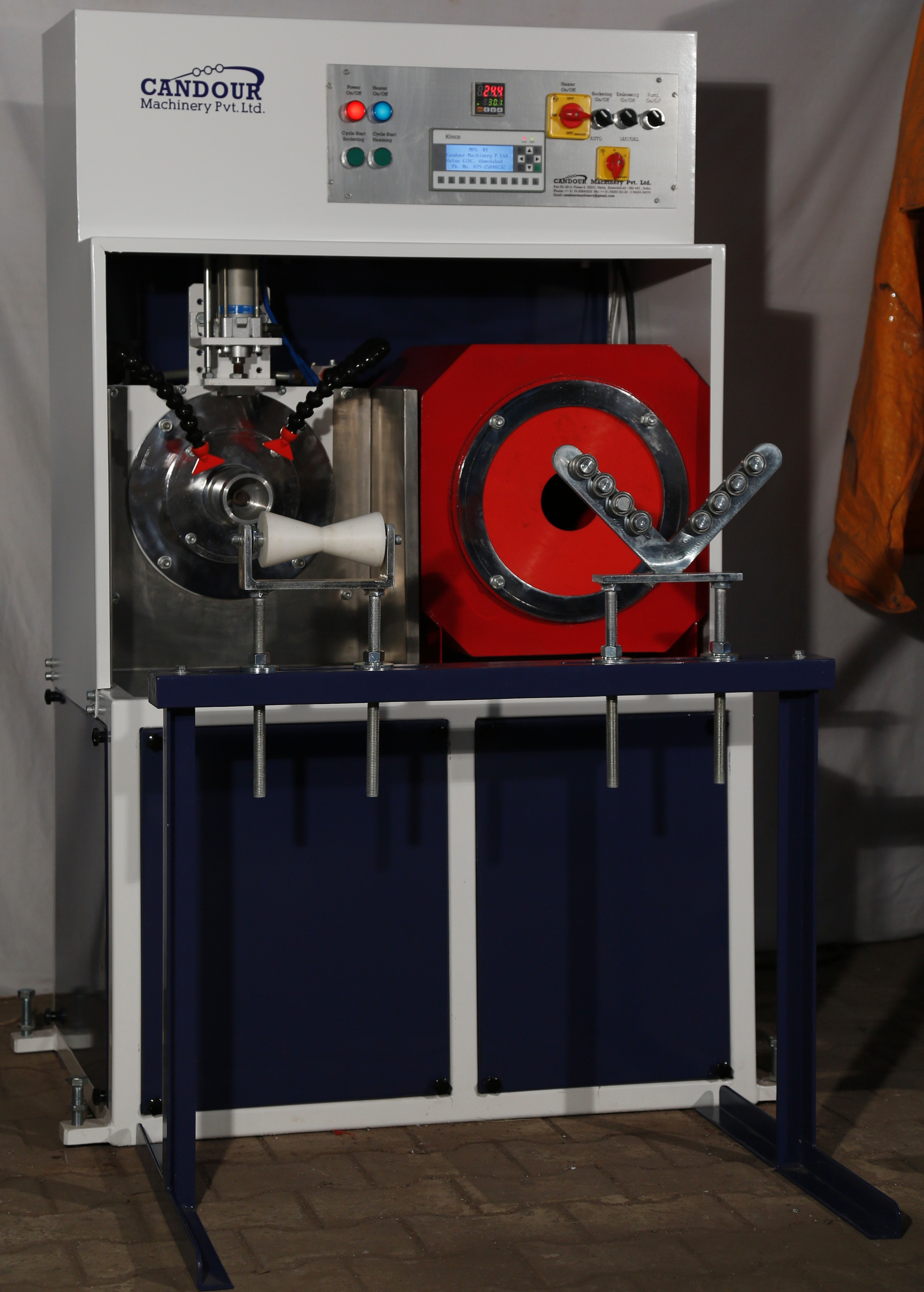 Manual PVC Pipe Socketing Machine