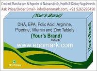 Co-enzyme Q10 L-Carnitine L-Gluthiaone EPA DHA