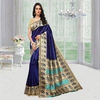 Ethnic Mysore Silk Saree