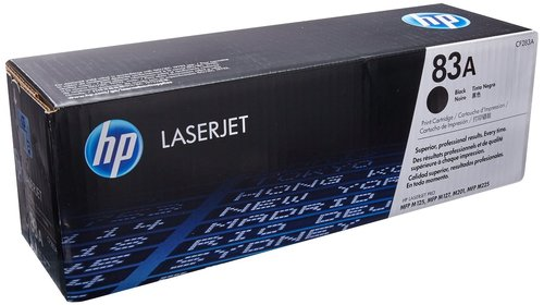 HP CF283 BLACK TONER TONER CARTRIDGE