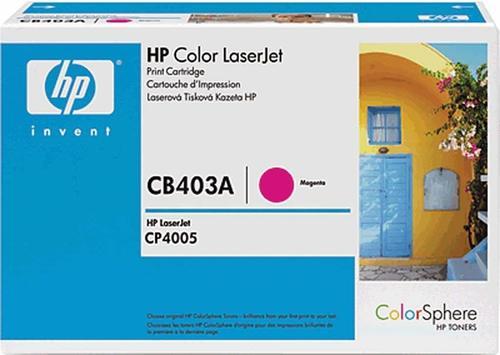 HP CB2403 MAJENTA TONER CARTRIDGE