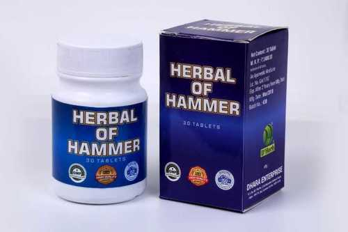 Herbal of hammer tablet