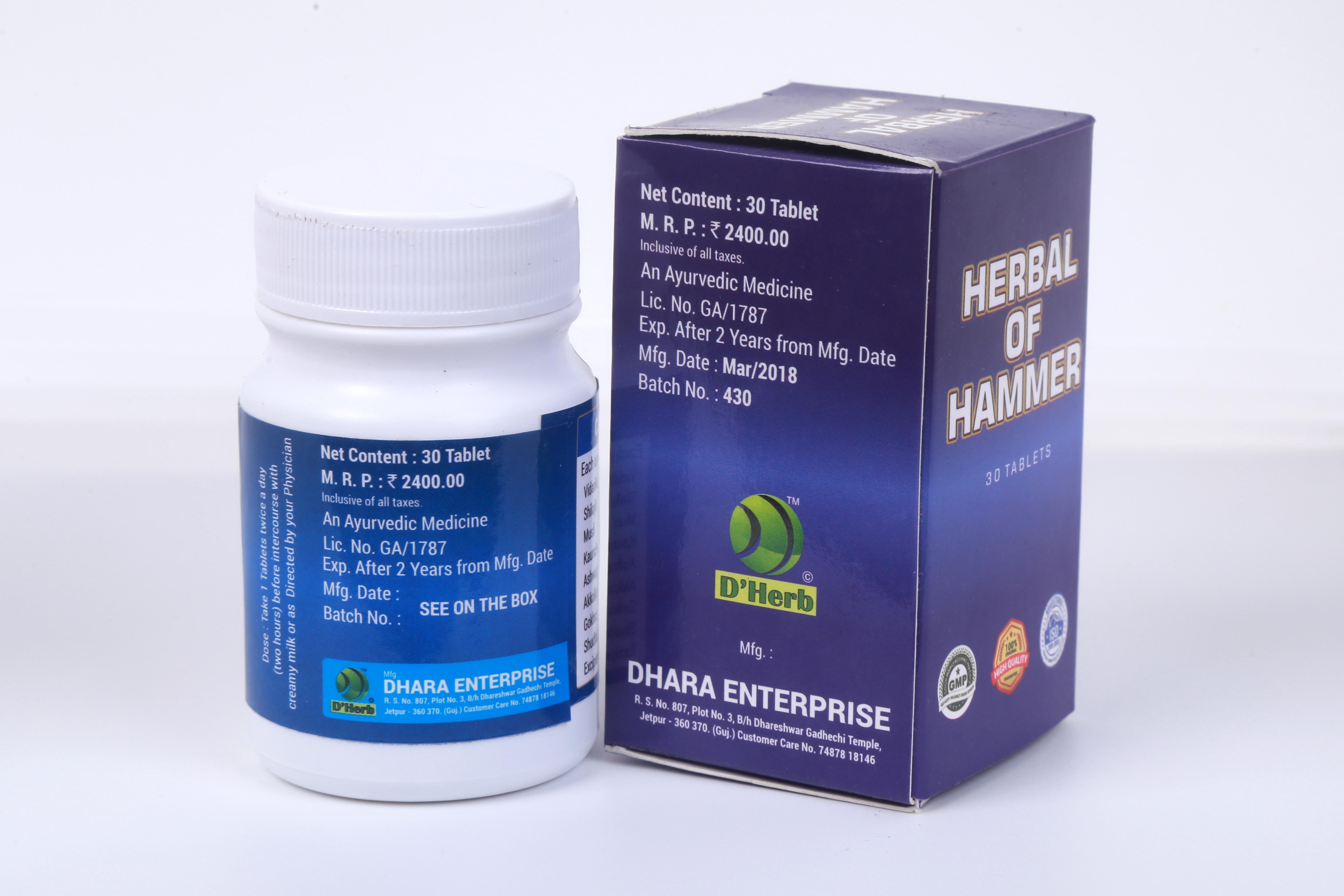 Herbal of Hammer Tablet