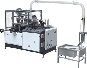 Fully Automatic High Speed Paper Cup Machine VE-1000 OC