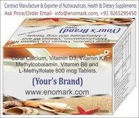 Calcium Citrate Malate Vitamin D3 Zinc And Magnesium Tablet