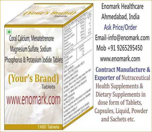 Dietary Supplements & Nutraceuticals Exporter, Manufacturer