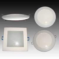 Rimless Flat Panel Light Round