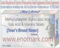 Methylcobalamin, Benfotiamine, Alpha Lipoic Acid Inositol