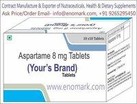 Aspartame Sweetener Tablet