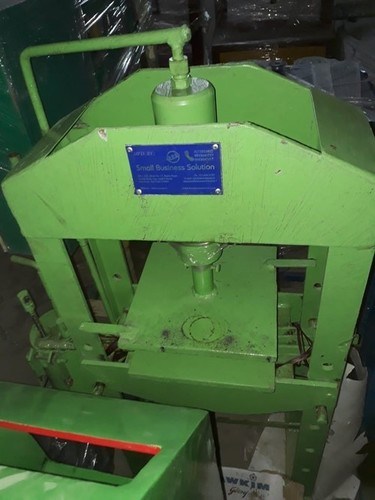 HYDRAULIC HAND PRESS SLIPPER MAKING MACHINE WITH MOTOR