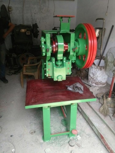 POWER PRESS SOLE CUTTING MACHINE 15 TON