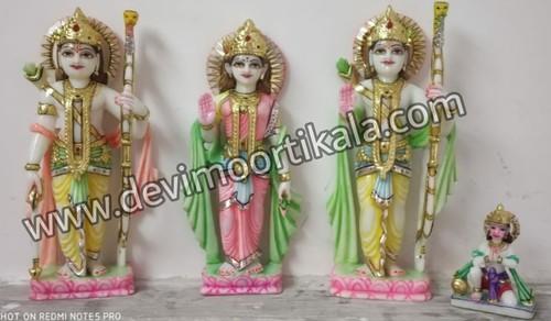 Ram Darbaar White Marble Murti