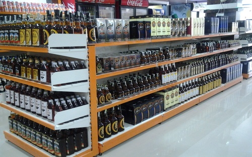 Drink display racks