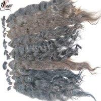 100% Natural Bulk Human Hair Weft For Sale