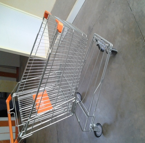 90 Ltrs Supermarket shopping Trolley