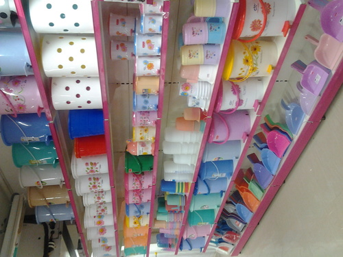 Plastic Display Racks