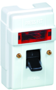 32 Amp. Royal Surface DP Switch