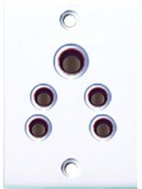 6 Amp. 2-in-1 Socket