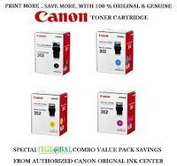 CANON 302 COLOR TONER CARTRIDGE