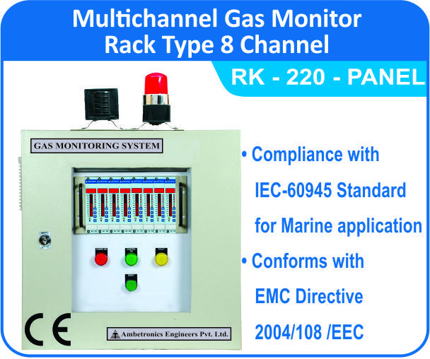 Rack Type Multichannel Monitor