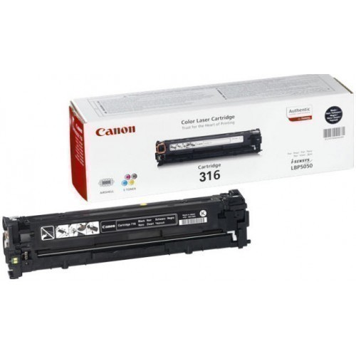 CANON 316 BLACK TONER CARTRIDGE