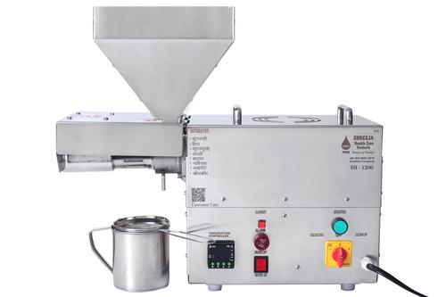 1200 W Screw Press Oil Machine