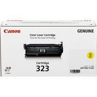 CANON 323 YELLOW TONER CARTRIDGE