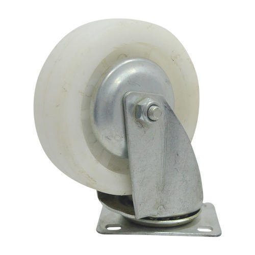 White Pu Caster Wheel