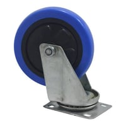 Blue PU Wheel