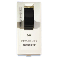 Press Fit Edge Single Pole Mini MCB Switch