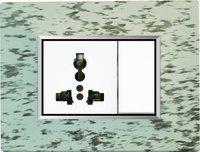 Edge Modular Plate - Marble