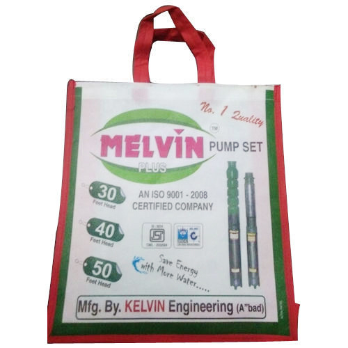 Non Woven Printed Handle Bag