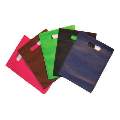 Multicolor Non Woven D Cut Bags