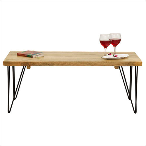 Wood Metal Table