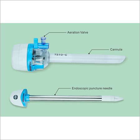 Endoscopic Suction Cannula and Disposable Trocars