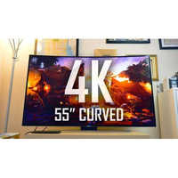 55 Inch Curved LED TV