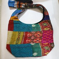 Indian Handmade Vintage Kantha Old Cotton Fabric Patchwork Indian Hot selling Bags