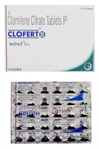 Clofert 25mg Tablet