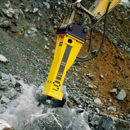 Hydraulic Quick Rock Breaker