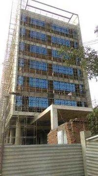 Structural semi unitized glazing
