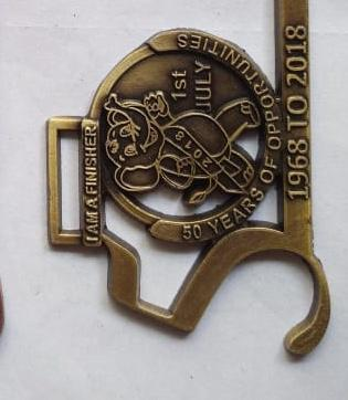 Customized Engraved Medal